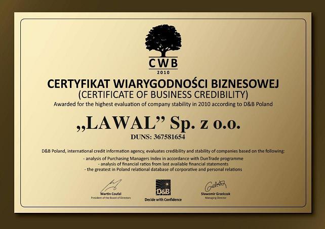 Certyfikat m